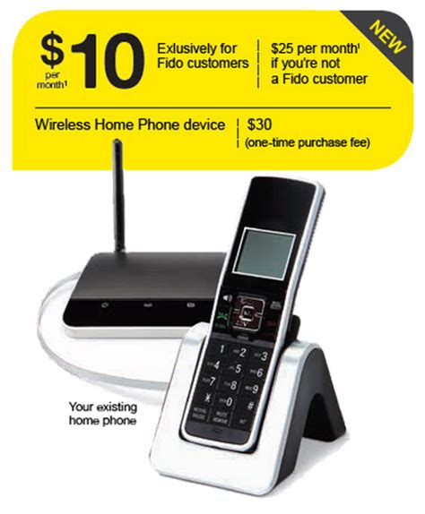 rogers fido launches network based wireless home phone
