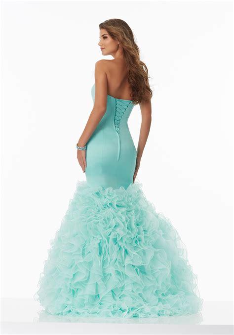 prom dress satin mermaid prom dress with a sweetheart neckline