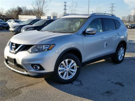 silver nissan rogue 2016 2016 nissan rogue sv awd silver sherway nissan new car