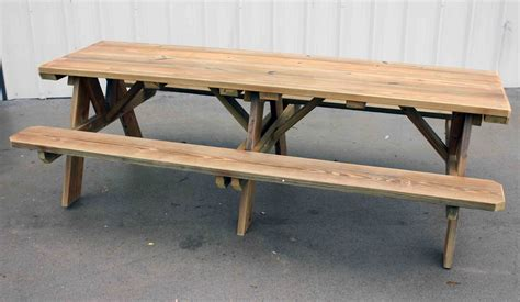8 ft table 8 ft picnic table plans diy free download how to build a
