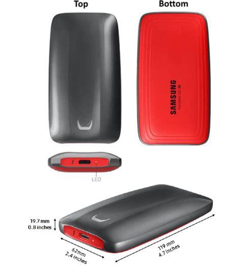 samsung portable ssd x5 review legit reviewssamsung portable ssd x5 thunderbolt 3 and nvme