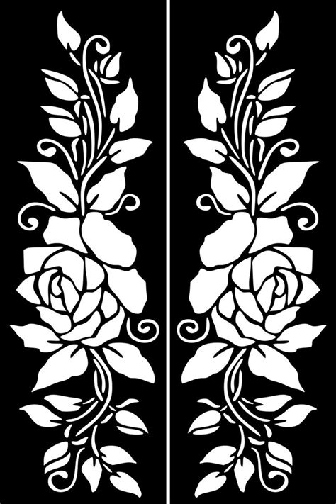 henna tattoo template 1527 best silhouette flowers images on