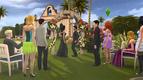 sims 4 wedding the sims 4 wedding when don lothario married bella goth