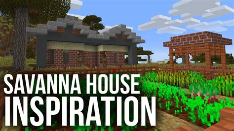minecraft house inspiration savanna house inspiration minecraft youtube