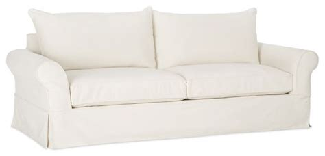 couch to 2k pb comfort slipcovered sofa traditional sofas by