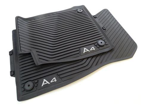 Gummimatten Audi A4 by Original Audi A4 8w B9 Gummimatten Gummifussmatten Set