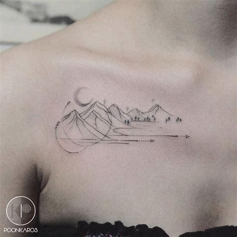 Minimalist Tattoo Köln | the 25 best ideas about geometric mountain tattoo on
