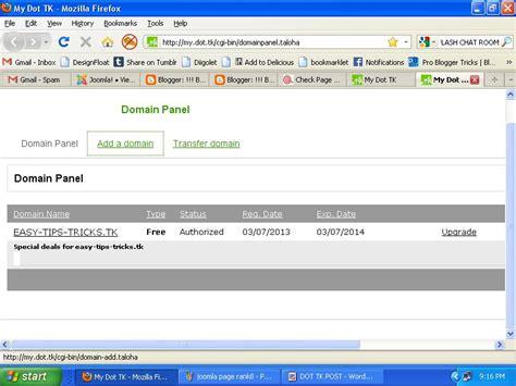 bypass forum bans create  dot tk domain urllink