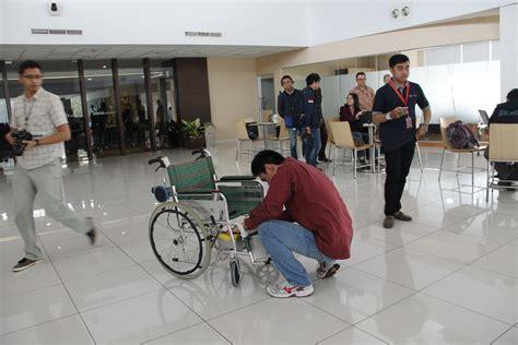 Kursi Roda Terbaru karya terbaru binusian kursi roda dengan sinyal otak