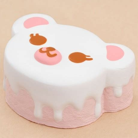Squishy Licensed Ibloom Snowy Softjumbo Original scented white coconut tea time animal squishy by ibloom squishy shop