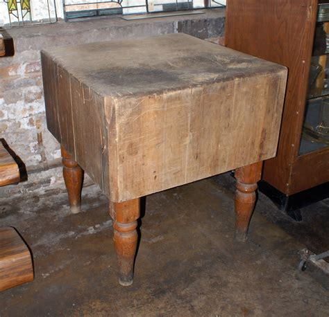 antique butcher table antique butcher table