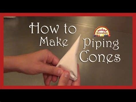 How To Make Parchment Paper For Writing - how to make parchment paper cones for cake writing