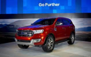 Future Ford Vehicles Ford Everest Ranger Concept Car Future Next Models