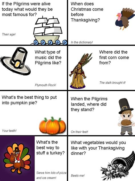 printable thanksgiving jokes and riddles thanksgiving lunch box jokes page 2 kids pinterest