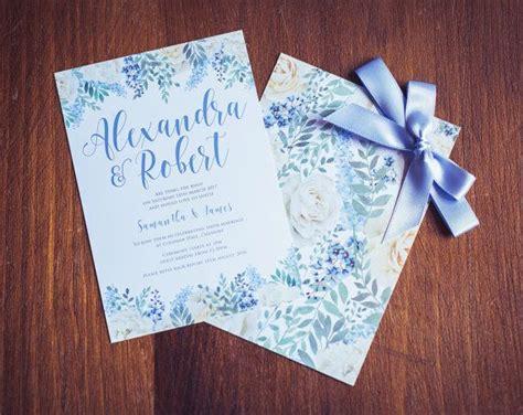 baby blue wedding invitations top 25 best cornflower blue weddings ideas on