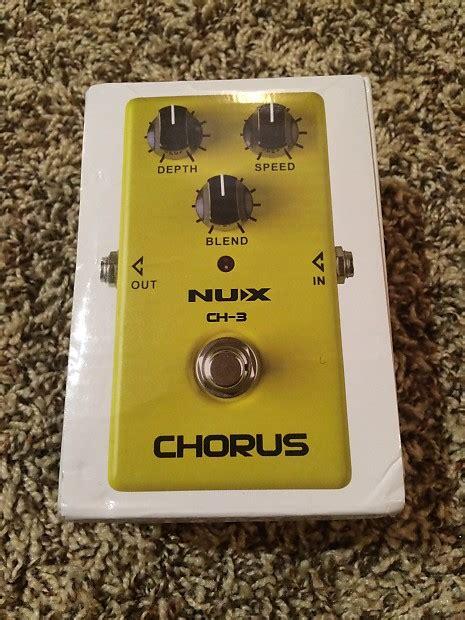 Nux Chorus Ch 3 nux ch 3 chorus reverb