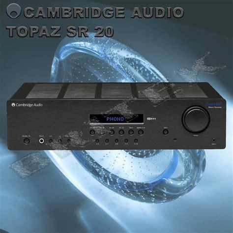 Cambridge Sr20 Audio Topaz Hitam cambridge audio topaz sr20 stereoreceiver