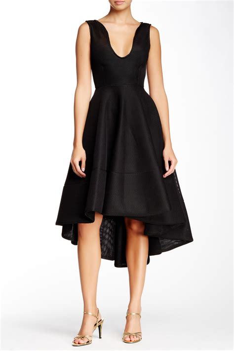 Nordstroms Rack Nyc by Issue New York Honeycomb Mesh A Line Dress On Sale At