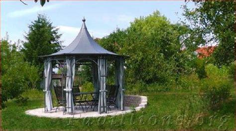 gartenpavillon metall mit festem dach075051 gartenpavillon