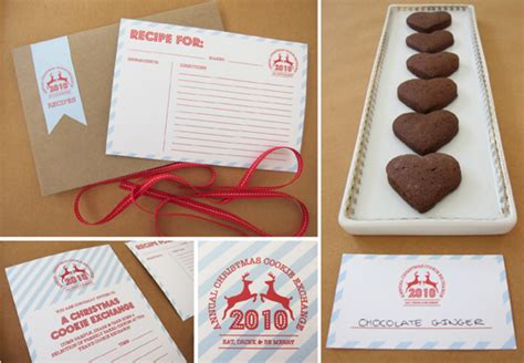 cookie exchange recipe card template quotes for a cookie exchange quotesgram