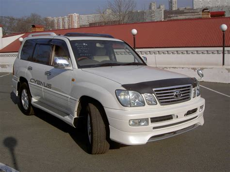 2002 Toyota Land Cruiser 2002 Toyota Land Cruiser Cygnus For Sale 4700cc
