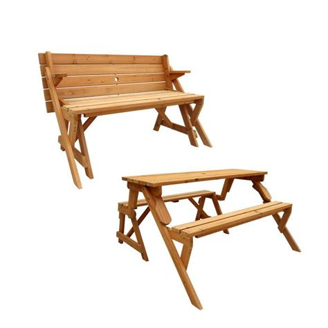 Convertible Picnic Table Bench by Convertible Picnic Table Garden Bench Wish List