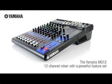 Mixer Yamaha 4 Chanel yamaha mg12 analog mixing console