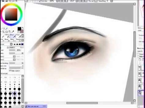 paint tool sai realistic eye tutorial how i draw color realistic with paint tool sai