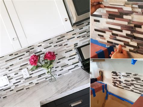 diy mosaic backsplash top 20 diy kitchen backsplash ideas