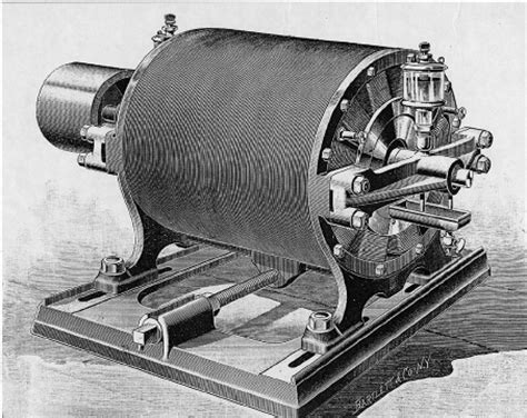 induction motors in electrical power systems nikola tesla s ac induction motor demonstrated in 1887 courtesy 20