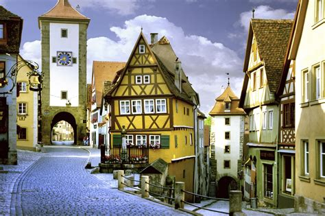 quaint town names rothenburg ob der tauber beautiful town travel and tourism