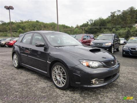 grey subaru impreza 2008 subaru impreza wrx sti in dark gray metallic 824537