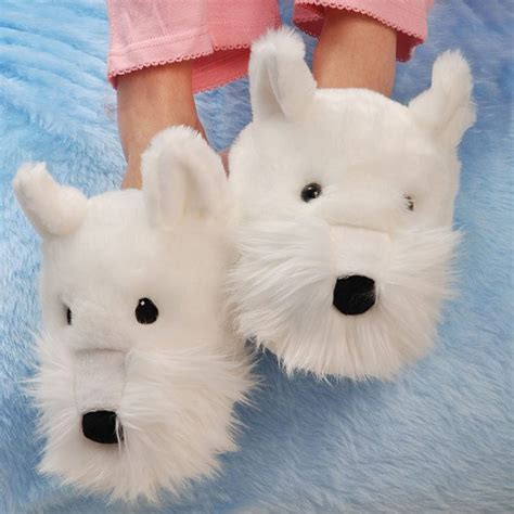 westie slippers westie slippers find me a gift