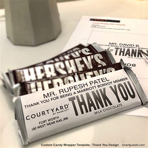 printable custom candy bar wrapper  template print