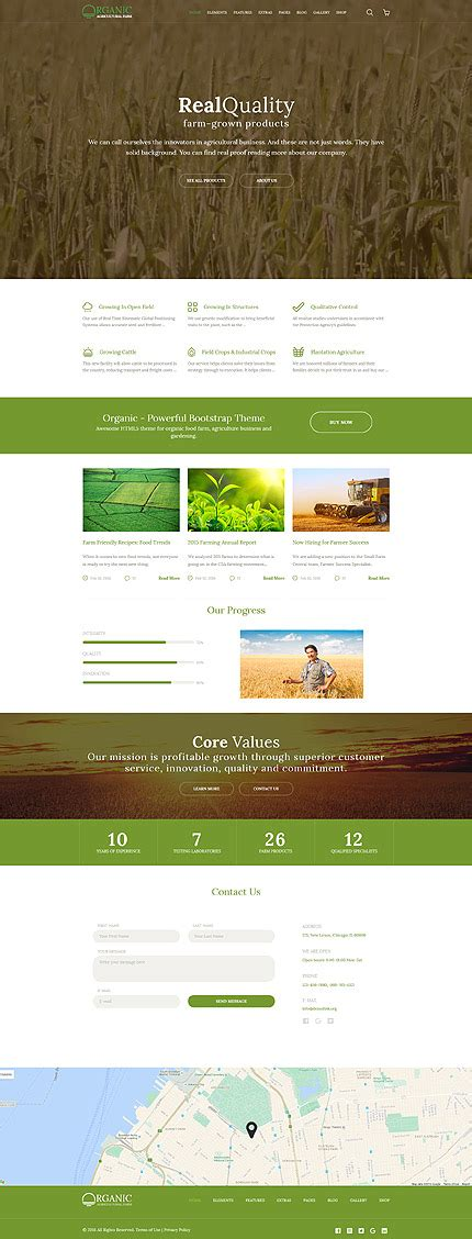 templates for agriculture website agriculture website template 58580 templates com
