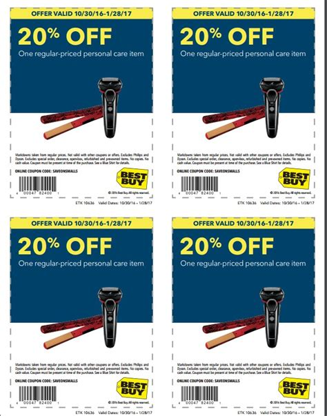 best buy daily deal 20 personal care items coupon january 28 2017