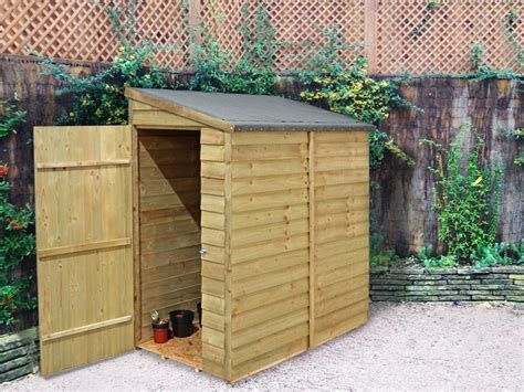 compact  overlap wall shed  ideal  locating