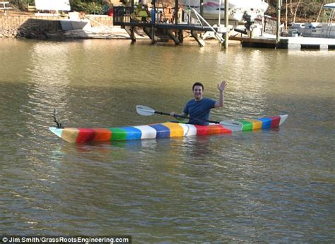 boat pictures for printing world s first 3d printed kayak that took 42 days to print