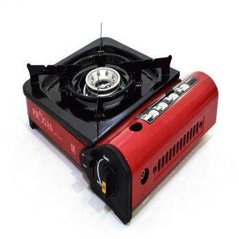 Kompor Elpiji Quantum harga progas kompor portable untuk gas kaleng dan elpiji 3kg 12kg sni merah pricenia