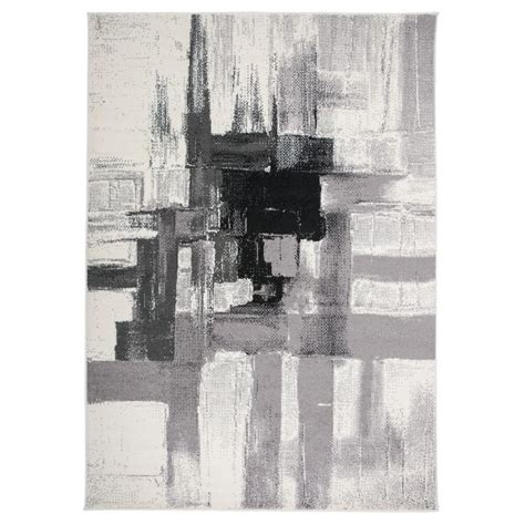 10 x 10 black area rug world rug gallery contemporary modern abstract area rug 7