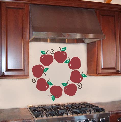 apple wall decor apple wreath kitchen wall sticker vinyl decal decor ebay