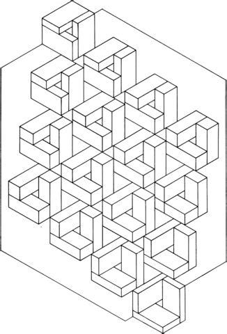 free printable optical illusion coloring sheets optical illusion 10 coloring page free printable