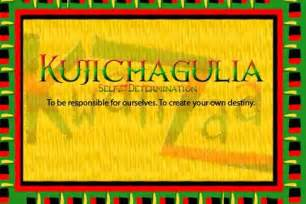 kujichagulia self determination define declare your