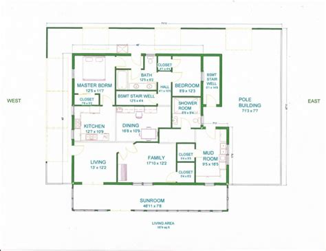 home floor plan design house plan charm and contemporary design pole barn house