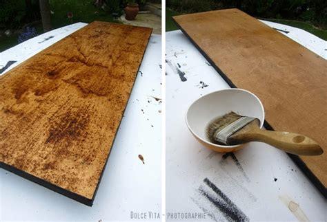 Holz Alt Aussehen Lassen Kaffee by Dolce Vita Diy Verwittertes Holz Selbst Herstellen