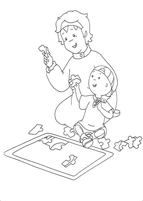 dibujos para colorear caillou caillou coloring pages best coloring pages for kids