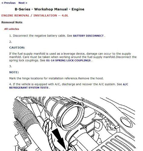 free auto repair manuals 2000 mazda b series spare parts catalogs 2000 mazda b series trucks b2500 b3000 b4000 repair service manual mazda