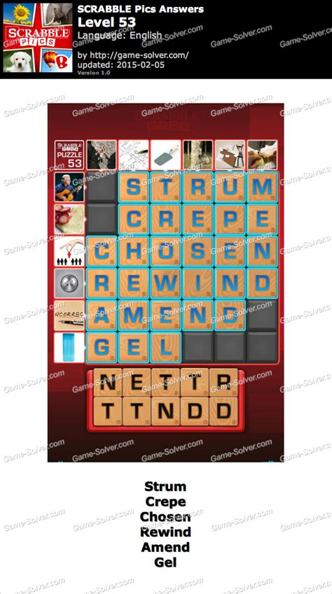 scrabble answer generator scrabble pics level 53 solver