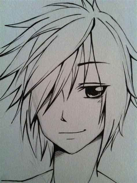 anime boy easy to draw a simple by ryuukeru on deviantart рисунки аниме