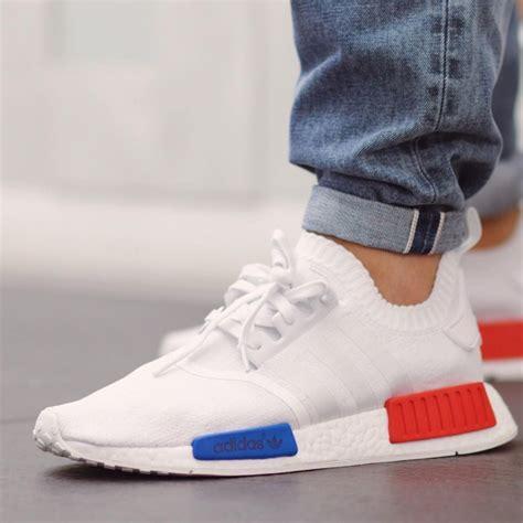 Adidas Nmd Tricolor White Us 8 adidas nmd runner pk white blue sneaker bar detroit